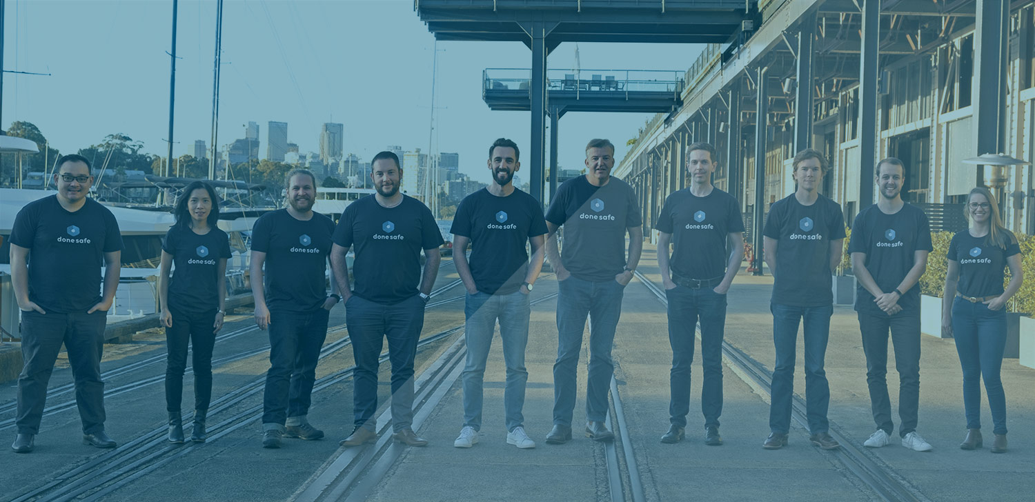 Team photo of Donesafe employees