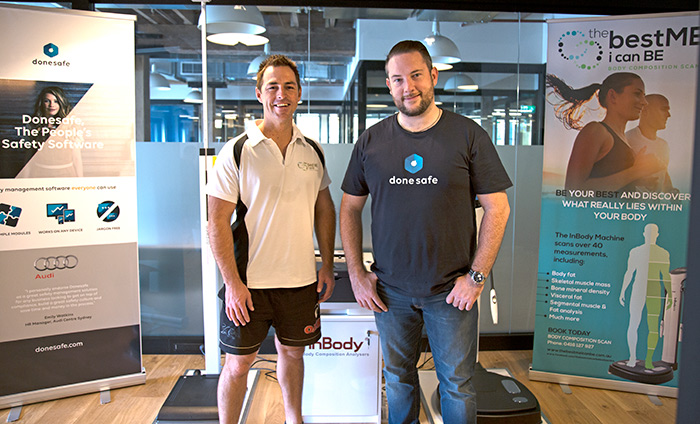 A company wide health kick as Donesafe partners with Inbody