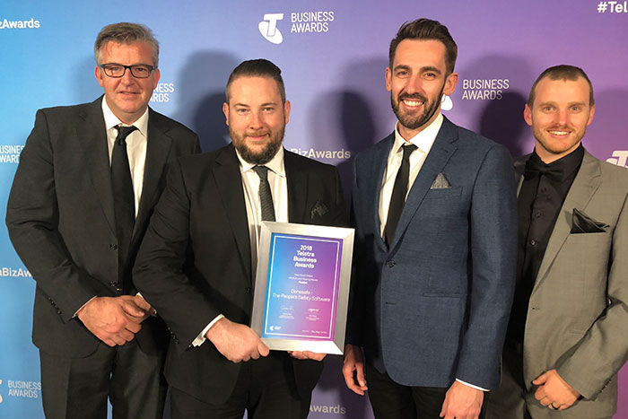 Telstra Business Awards - Donesafe finalists 2018
