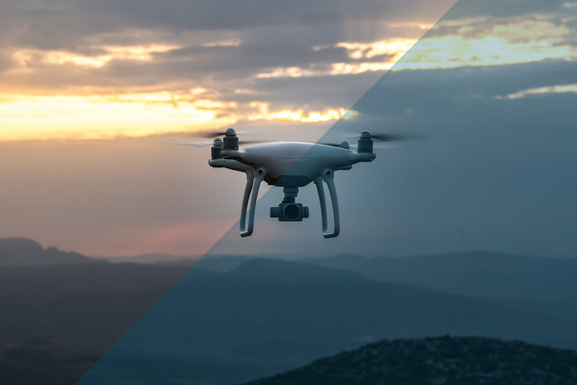 how technology is used within safety drones