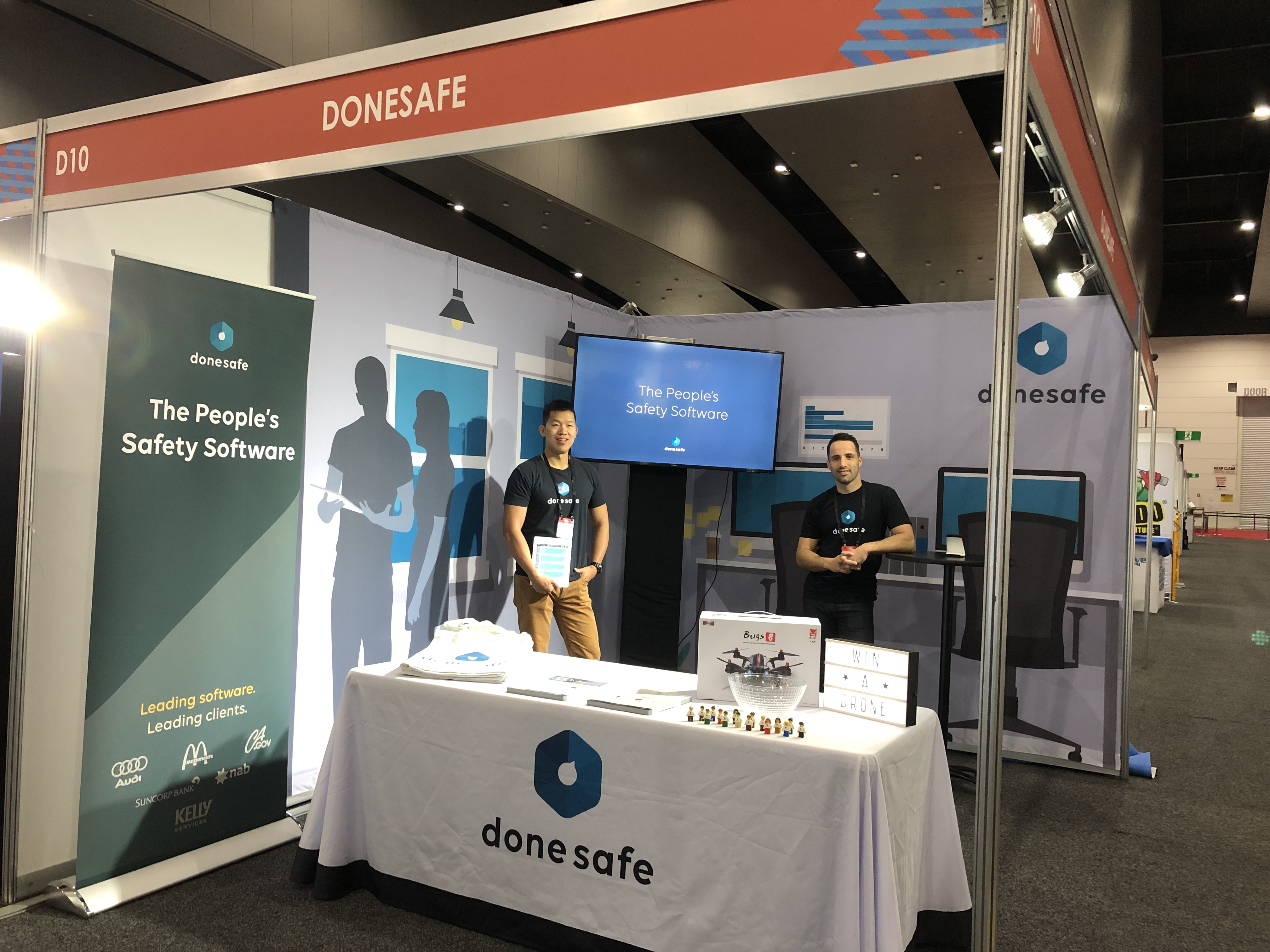 Donesafe team at Safety in Action 2019